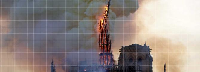 Comment la cathédrale est partie en flammes
