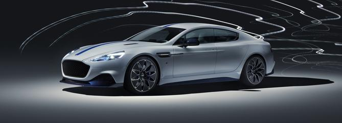 Aston Martin Rapide E, James Bond en mode furtif