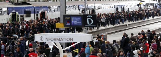 TGV, TER, RER: retards endémiques dénoncés dans un rapport
