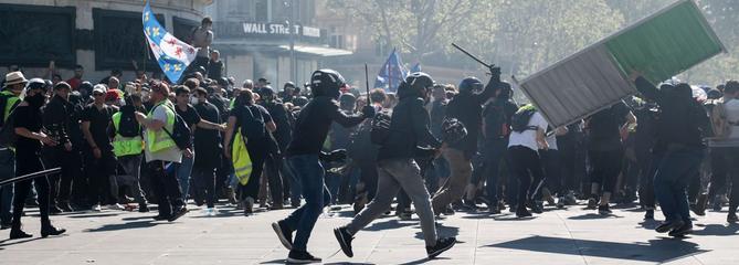 À Paris, les heurts de «l'acte XXIII» augurent le pire pour le 1er mai
