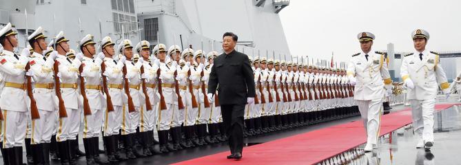Pékin met en garde la Marine française
