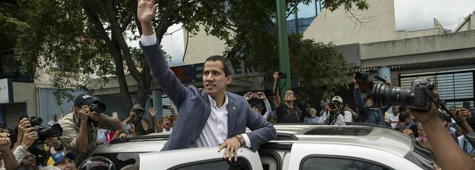 L'élan autour de Juan Guaido s'essouffle dans les rues de Caracas