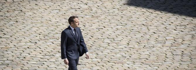 Macron reçoit mardi des écrivains européens à l'Élysée