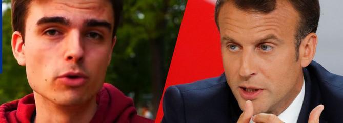 Qui est Hugo Travers, le youtubeur qui va interviewer Emmanuel Macron ce soir?