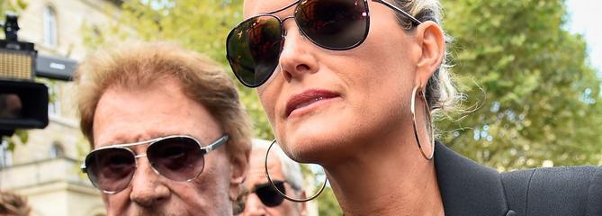 Laeticia Hallyday demande en urgence le transfert des actifs de Johnny aux États-Unis