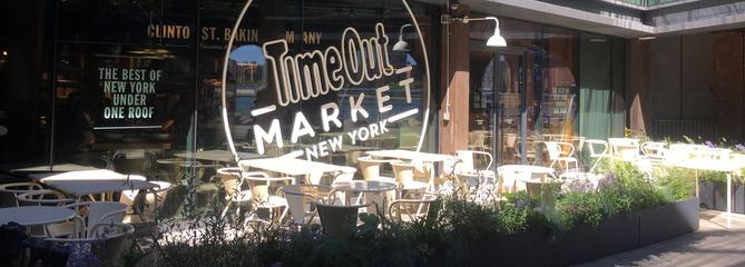 Time Out Market ouvre à New York