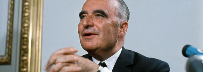 Il y a 50 ans, Georges Pompidou était élu président de la République