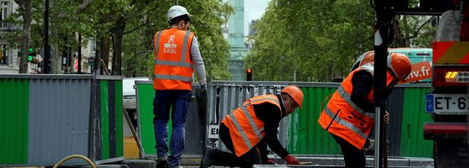 Pourquoi Paris est paralysée par les travaux
