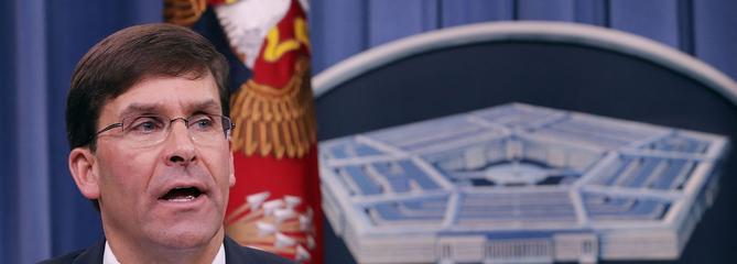 Mark Esper, ancien militaire reconverti dans l'industrie, prend la tête du Pentagone