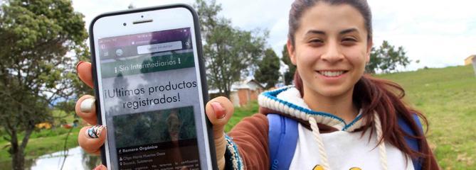Une application aide les agriculteurs colombiens à vendre leurs récoltes au juste prix