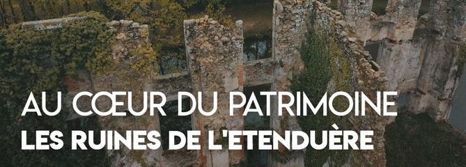 Loto du patrimoine 2019: à la découverte de l'Étenduère, le château en ruines des Herbiers