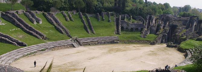 Loto du patrimoine 2019: à la découverte de l'amphithéâtre de Saintes