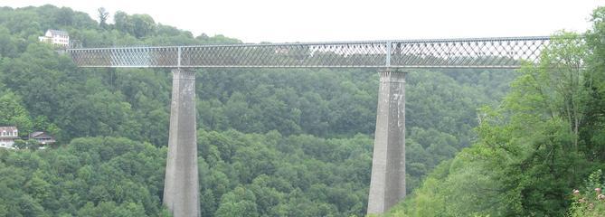 Loto du patrimoine 2019: à la découverte du viaduc des Fades, trait d'union de la vallée de la Sioule