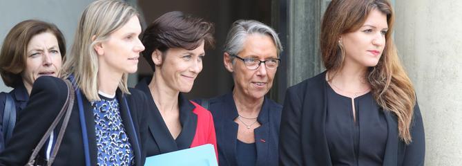 Les femmes sont pour la première fois majoritaires dans un gouvernement