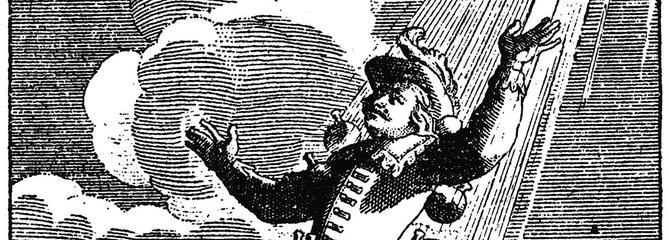 Cyrano de Bergerac, mais qu'allait-il faire sur la Lune?