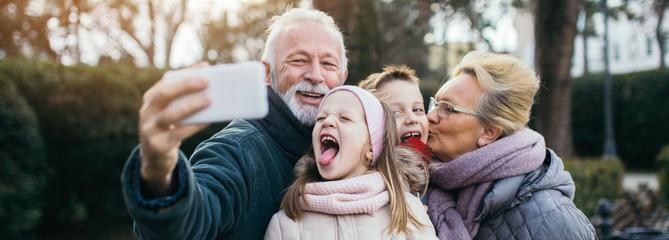 L'art d'être grands-parents aujourd'hui