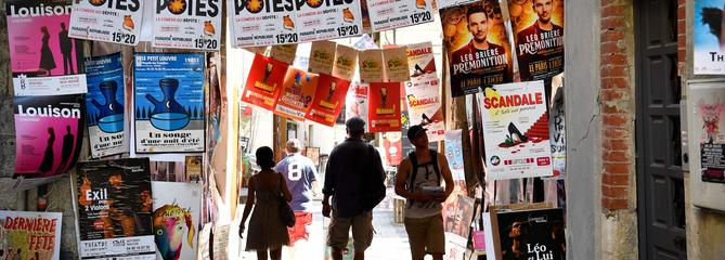 Le Festival d'Avignon, une grande kermesse