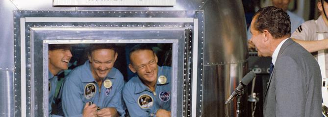 Apollo 11: le difficile retour sur Terre des astronautes
