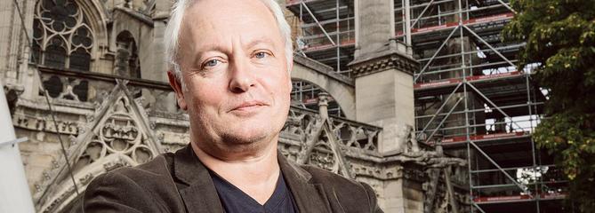 Philippe Villeneuve, architecte en chef et amoureux de Notre-Dame de Paris