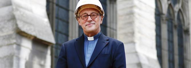 Mgr Chauvet, le recteur de Notre-Dame, a vu «sa» maison partir en fumée