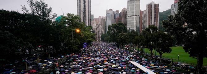 À Hongkong, la mobilisation face à Pékin ne faiblit pas