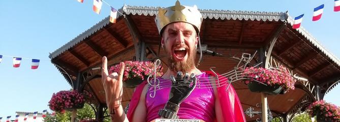 Lord Scrat, le Breton qui pourrait faire gagner la France aux championnats du monde d'Air guitar