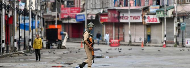 Au cœur de Srinagar, capitale fantôme du Cachemire