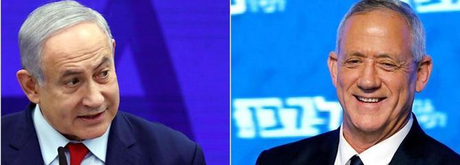 Élections en Israël: Nétanyahou et Gantz au coude-à-coude