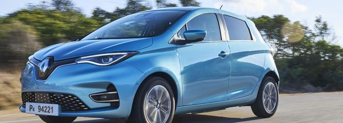 Renault ZOE, pour les sens, mais sans essence