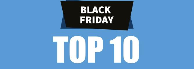 Black Friday : TOP 10 des meilleures offres de ce vendredi sur Amazon