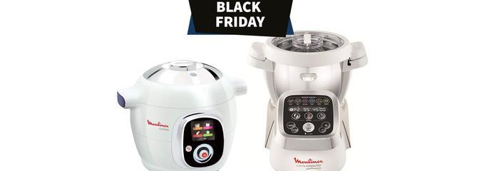 Black Friday : Robot multicuiseur multifonction Moulinex en promo jusqu'à -39%