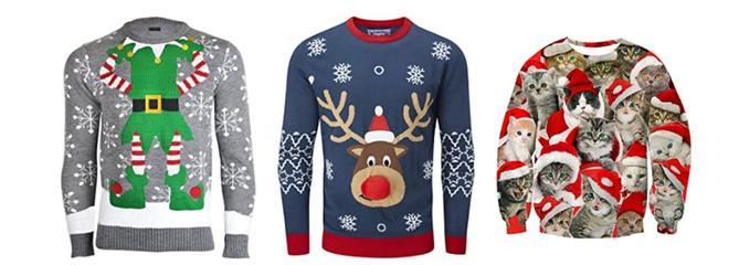 Idées cadeaux Noel 2019 : Notre sélection de pulls moches de Noel!