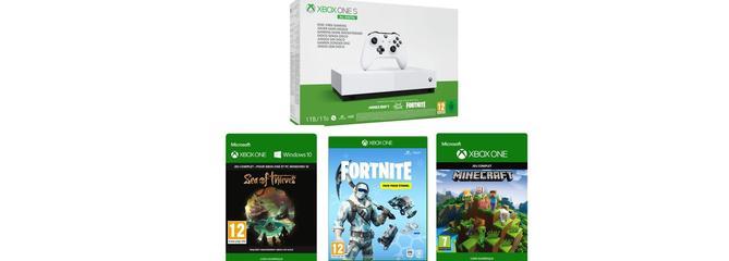 Bon plan exclusif FNAC.com : La Xbox One S à 99,99 euros au lieu de 229,99 euros