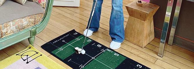 Nos suggestions pour une partie de golf à la maison