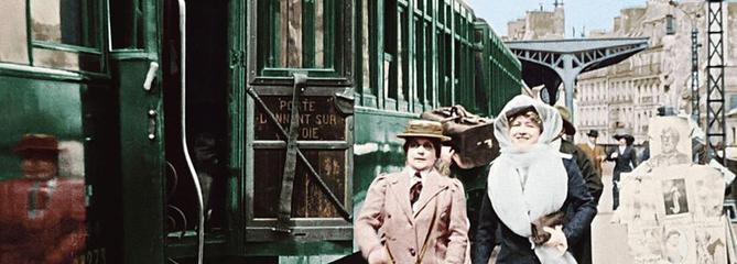 En voiture pour le train du bonheur sur France 3