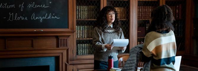 Directrice : Sandra Oh croque les maux de l'université américaine sur Netflix