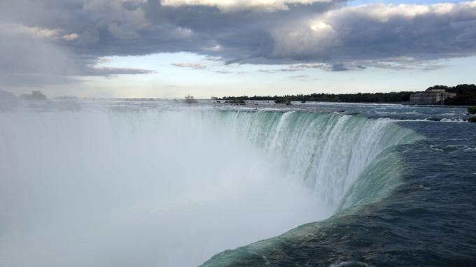 Les chutes du Niagara, les plus magiques de la planète.
