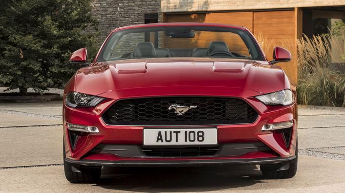 Nouvelle Ford Mustang 2018: un moteur V8 de 5,0 litres pour une puissance de 450 ch