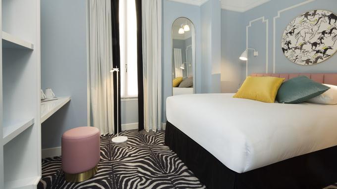 Cosy et coloré l'hôtel Pastel est un généreux trois étoiles