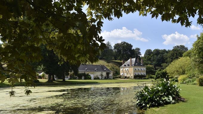 Le jardin remarquable du Plessis Sasnières s'étale sur 11 hectares.