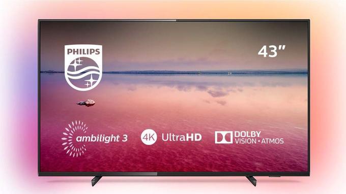 TV 4K Philips 6700 Séries