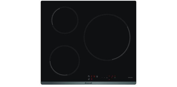 Plaque induction 3 feux: Brandt BP16315B