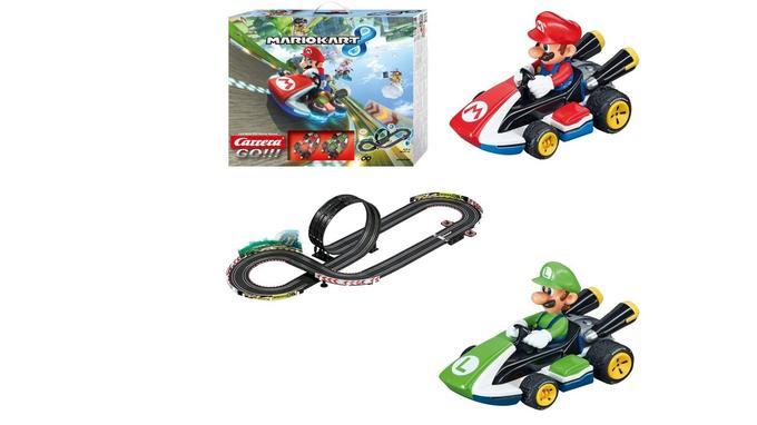 Circuit de voiture électronique: Carrera Mario Kart 8