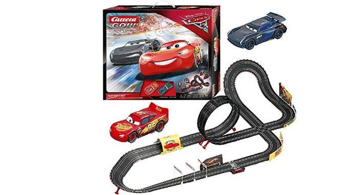 Circuit de voiture électronique: Carrera - 20062416 - Disney Pixar Cars 3
