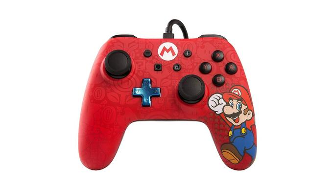 Manette pour Nintendo Switch: PowerA iConic Mario