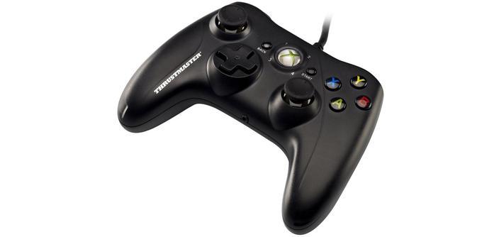 La manette Xbox 360: Thrustmaster GPX