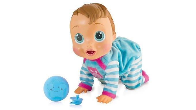 Poupées et poupons intéractifs: IMC Toys - Baby Wow, Louis
