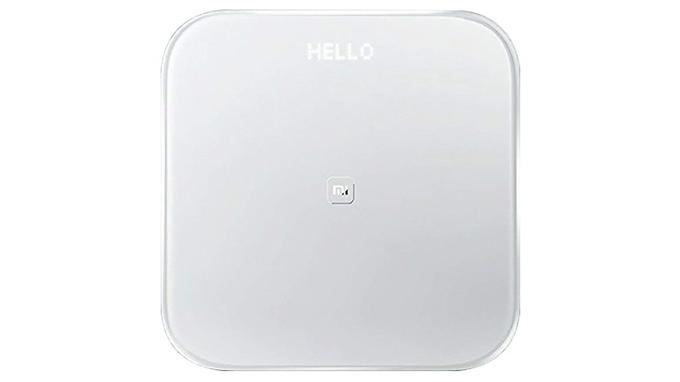 Balance connectée: Xiaomi Mi Smart Scale