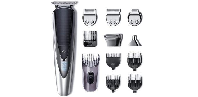 Tondeuse barbe et corps Hatteker 5-en-1