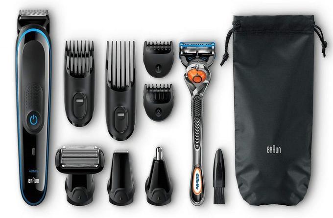 Tondeuse à barbe et cheveux Braun MGK3085